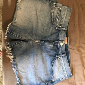 MOTHER Shorts - Mother Denim Cutoff Shorts